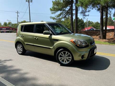2012 Kia Soul for sale at THE AUTO FINDERS in Durham NC