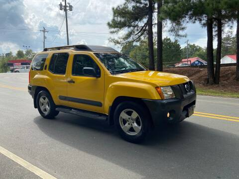 2005 Nissan Xterra for sale at THE AUTO FINDERS in Durham NC