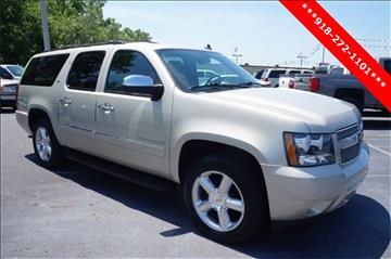 2014 Chevrolet Suburban for sale at Classic Chevrolet in Owasso OK