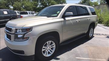 2015 Chevrolet Tahoe for sale at Classic Chevrolet in Owasso OK