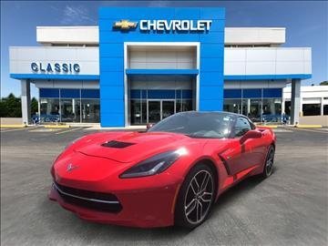 2015 Chevrolet Corvette for sale at Classic Chevrolet in Owasso OK