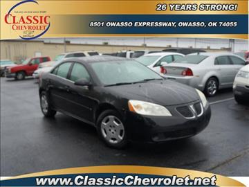 2007 Pontiac G6 for sale at Classic Chevrolet in Owasso OK