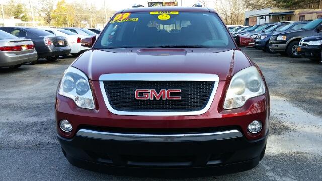 2009 GMC ACADIA SLT-1 4DR SUV marron airbag deactivation - occupant sensing passenger alternator