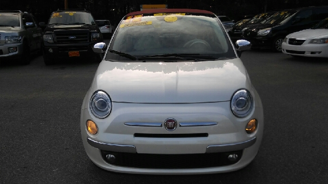 2012 FIAT 500C LOUNGE 2DR CONVERTIBLE pearl abs - 4-wheel active head restraints - dual front a