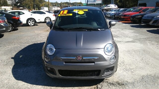 2012 FIAT 500 SPORT 2DR HATCHBACK gray abs - 4-wheel active head restraints - dual front air fi