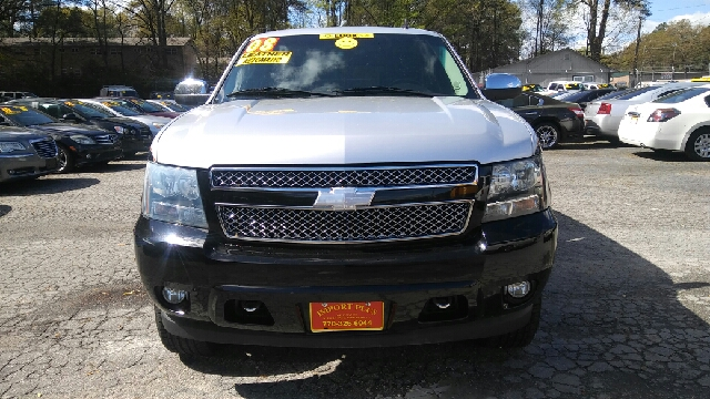 2008 CHEVROLET TAHOE LTZ 4X4 4DR SUV black 4wd selector - electronic hi-lo 4wd type - part time