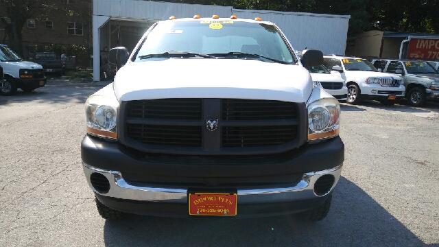 2006 DODGE RAM PICKUP 3500 SLT 4DR QUAD CAB 4WD LB white 4wd selector - manual hi-lo 4wd type -