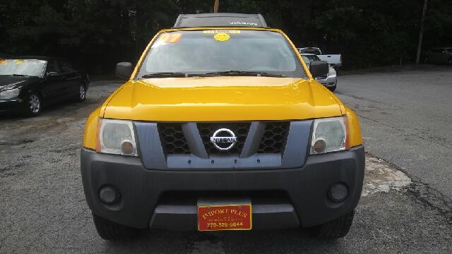 2007 NISSAN XTERRA X 4DR SUV 4L V6 5A yellow abs - 4-wheel active head restraints - dual front