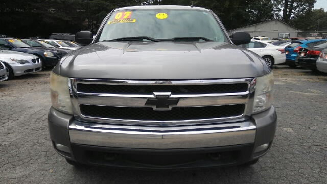 2007 CHEVROLET SILVERADO 1500 LT1 4DR EXTENDED CAB 4WD 8 FT L gray 2-stage unlocking doors 4wd