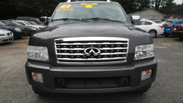 2008 INFINITI QX56 BASE 4DR SUV gray 2-stage unlocking doors abs - 4-wheel active head restrain