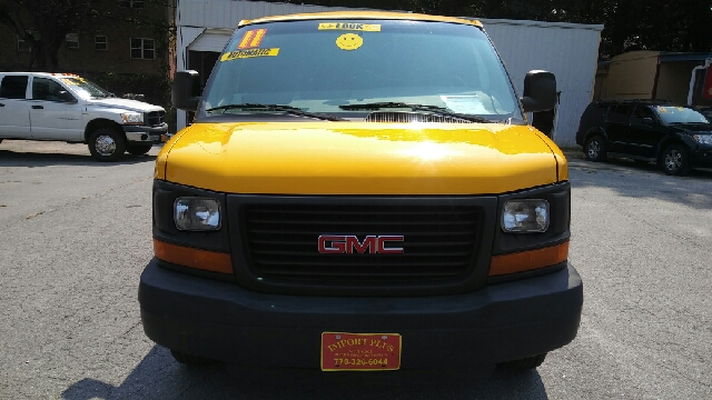 2011 GMC SAVANA CARGO 2500 3DR EXTENDED CARGO VAN W 1 yellow abs - 4-wheel active head restrain