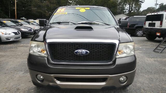 2006 FORD F-150 LARIAT 4DR SUPERCREW STYLESIDE 5 brown abs - 4-wheel airbag deactivation - occup