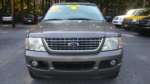 2003 FORD EXPLORER LIMITED 4DR SUV tan abs - 4-wheel adjustable pedals - power anti-theft syste
