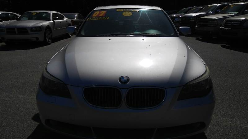2007 BMW 5 SERIES 525I 4DR SEDAN silver 2-stage unlocking doors abs - 4-wheel air filtration -