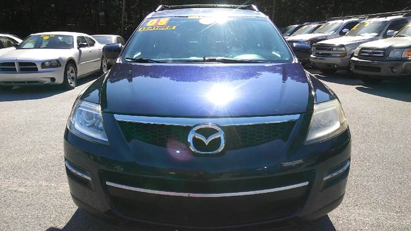 2008 MAZDA CX-9 TOURING AWD 4DR SUV blue 2-stage unlocking doors 4wd type - on demand abs - 4-w