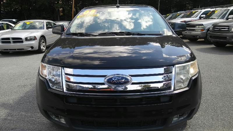 2008 FORD EDGE SEL 4DR CROSSOVER black 2-stage unlocking doors abs - 4-wheel airbag deactivatio