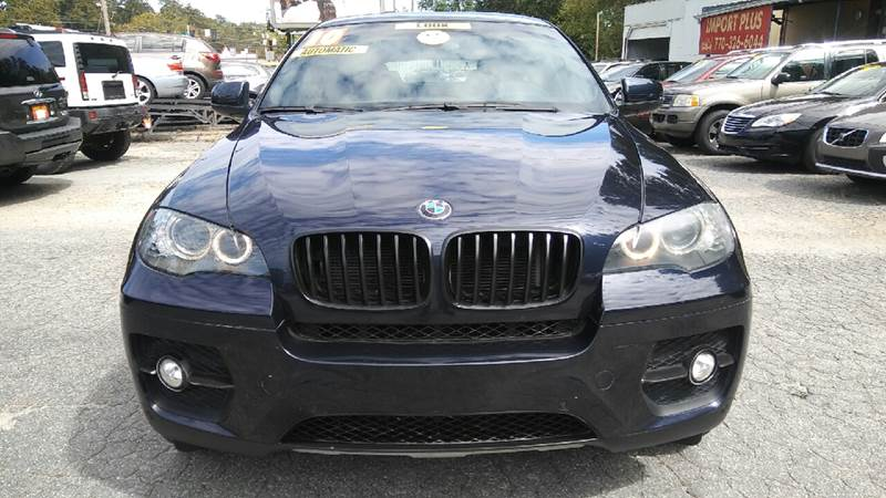 2010 BMW X6 XDRIVE35I AWD 4DR SUV blue 4wd type - full time abs - 4-wheel active head restraint