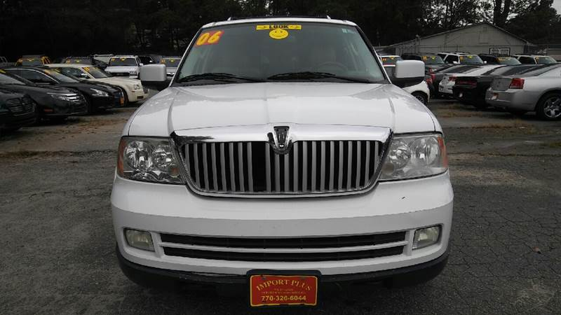 2006 LINCOLN NAVIGATOR LUXURY 4DR SUV 4WD white 4wd selector - electronic 4wd type - part time w