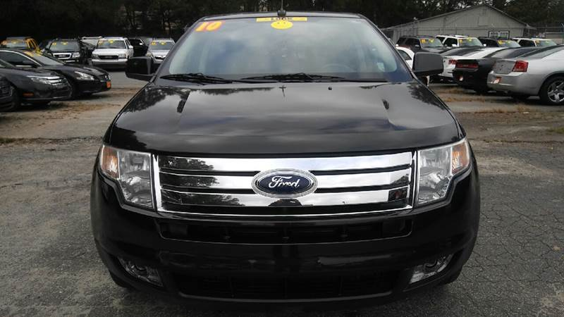 2010 FORD EDGE LIMITED 4DR CROSSOVER black 2-stage unlocking doors abs - 4-wheel air filtration