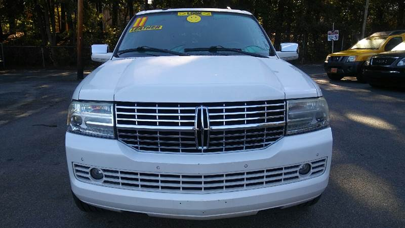 2011 LINCOLN NAVIGATOR L BASE 4X2 4DR SUV white abs - 4-wheel adjustable pedals - power airbag