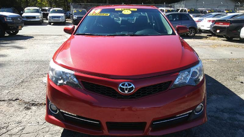 2014 TOYOTA CAMRY SE 4DR SEDAN red 2-stage unlocking doors abs - 4-wheel air filtration airbag