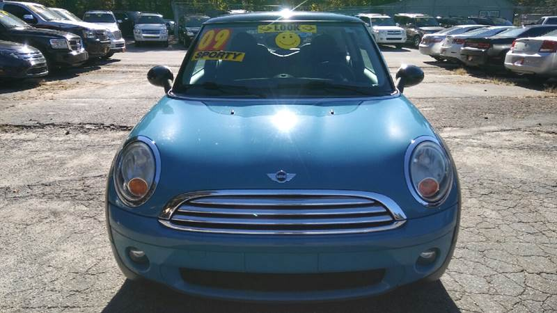 2009 MINI COOPER BASE 2DR HATCHBACK blue 2-stage unlocking doors abs - 4-wheel air filtration