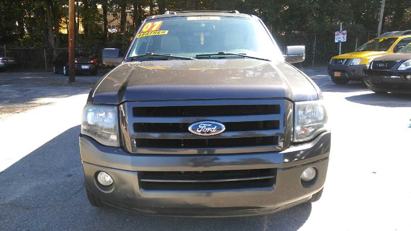 2007 FORD EXPEDITION EL LIMITED 4X2 4DR SUV gray 2-stage unlocking doors abs - 4-wheel antenna