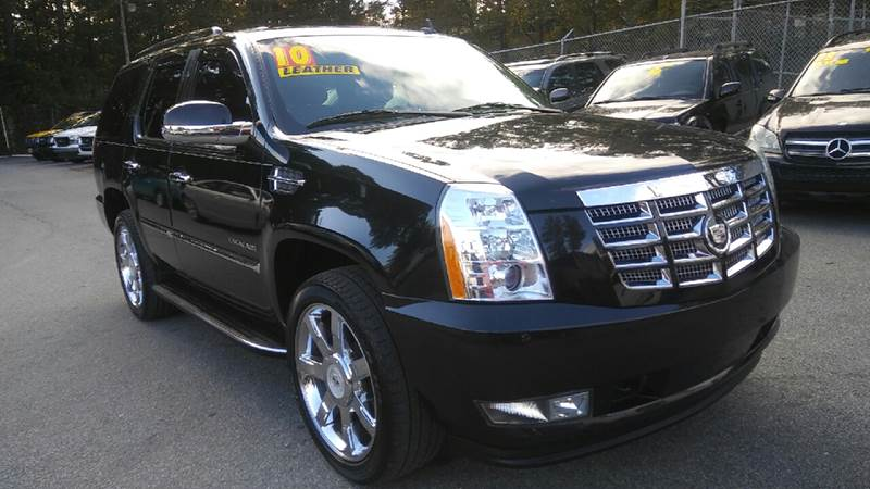 2010 CADILLAC ESCALADE LUXURY AWD 4DR SUV black 4wd type - full time abs - 4-wheel active head
