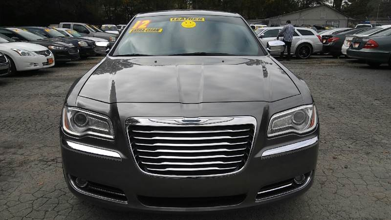 2012 CHRYSLER 300 LIMITED 4DR SEDAN gray 2-stage unlocking doors abs - 4-wheel active head rest