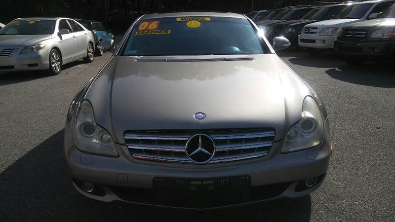 2006 MERCEDES-BENZ CLS CLS 500 4DR SEDAN gray abs - 4-wheel active head restraints - dual front