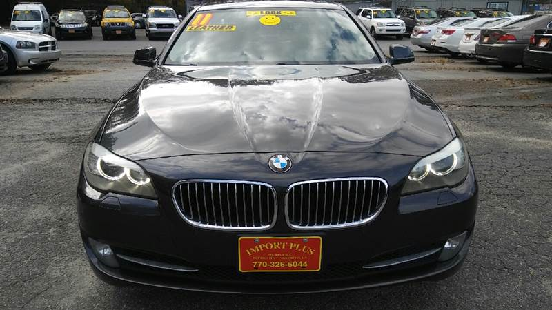 2011 BMW 5 SERIES 535I 4DR SEDAN gray 2-stage unlocking doors abs - 4-wheel active head restrai