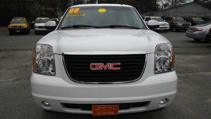 2008 GMC YUKON XL SLT 1500 4X2 4DR SUV W 4SA white 2-stage unlocking doors abs - 4-wheel airba