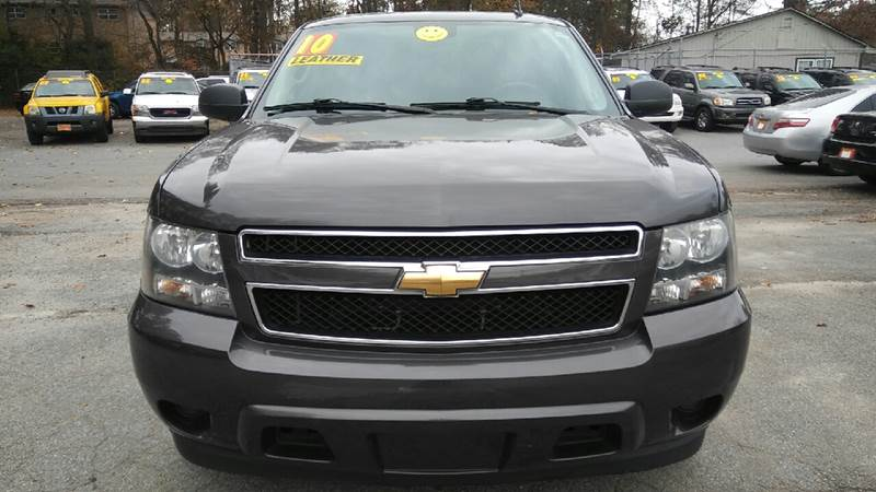 2010 CHEVROLET TAHOE LS 4X2 4DR SUV gray 2-stage unlocking doors abs - 4-wheel airbag deactivat