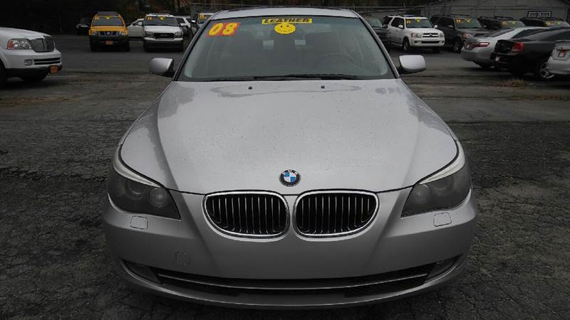 2008 BMW 5 SERIES 535I 4DR SEDAN LUXURY silver abs - 4-wheel active head restraints - dual front
