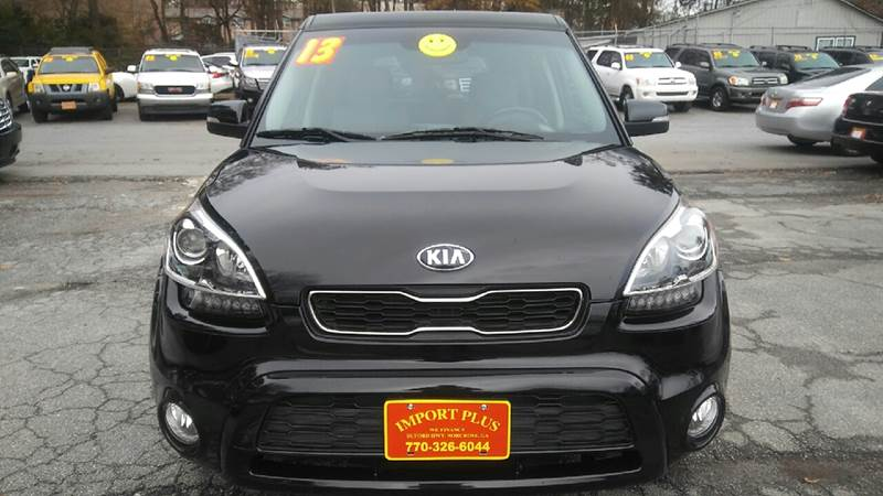 2013 KIA SOUL  4DR WAGON 6A black 2-stage unlocking doors abs - 4-wheel active head restraints