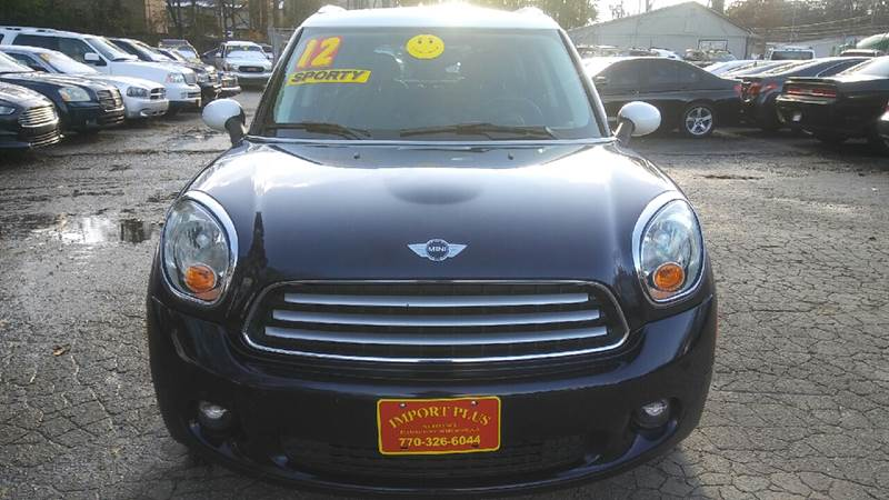 2012 MINI COOPER COUNTRYMAN BASE 4DR CROSSOVER blue 2-stage unlocking doors abs - 4-wheel air f