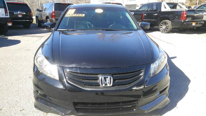 2011 HONDA ACCORD EX L V6 WNAVI 4DR SEDAN black abs - 4-wheel airbag deactivation - occupant se