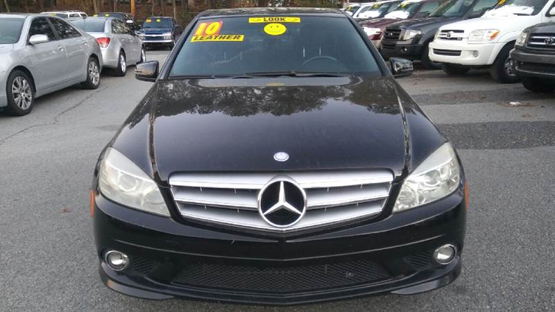 2010 MERCEDES-BENZ C-CLASS C 300 LUXURY 4DR SEDAN black abs - 4-wheel active head restraints - d