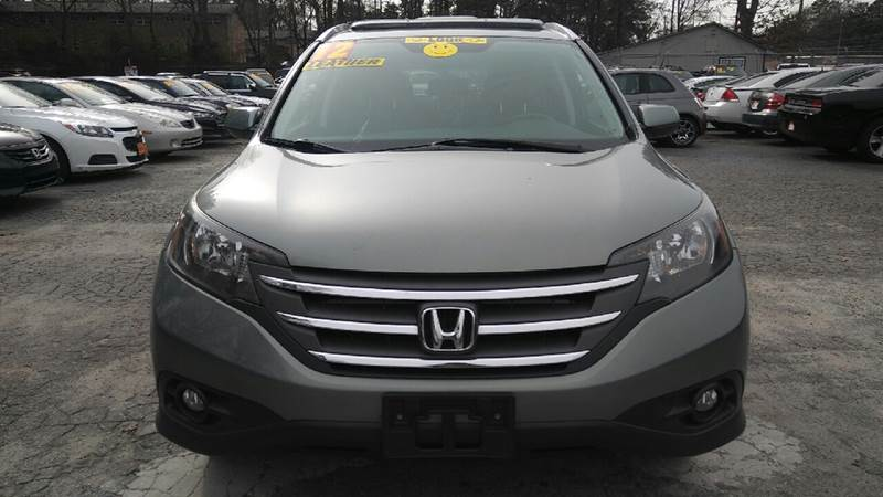 2012 HONDA CR-V EX L WDVD AWD 4DR SUV gray 2-stage unlocking doors 4wd type - on demand active