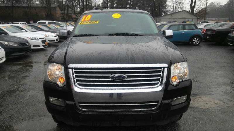 2010 FORD EXPLORER LIMITED 4X2 4DR SUV black abs - 4-wheel adjustable pedals - power airbag dea
