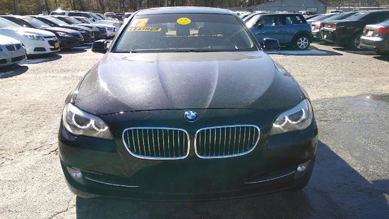 2012 BMW 5 SERIES 535I 4DR SEDAN black 2-stage unlocking doors abs - 4-wheel active head restra