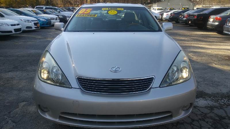 2005 LEXUS ES 330 BASE 4DR SEDAN gray abs - 4-wheel anti-theft system - alarm cassette center