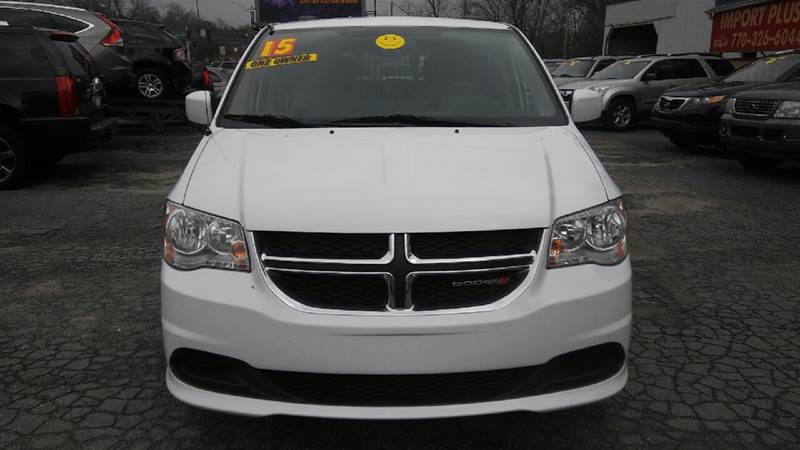 2015 DODGE GRAND CARAVAN SXT 4DR MINI VAN white 2-stage unlocking doors abs - 4-wheel active he