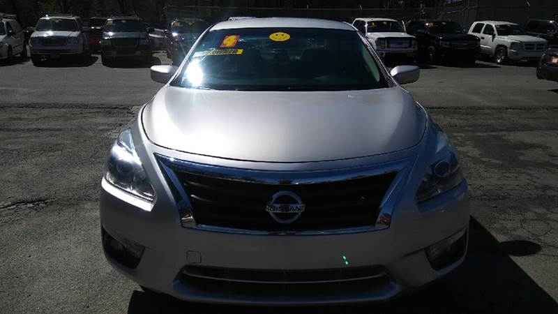 2014 NISSAN ALTIMA 25 S 4DR SEDAN silver 2-stage unlocking doors abs - 4-wheel active head res