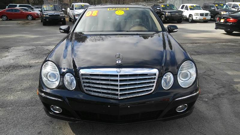 2008 MERCEDES-BENZ E-CLASS E 350 4DR SEDAN black 2-stage unlocking doors abs - 4-wheel active h