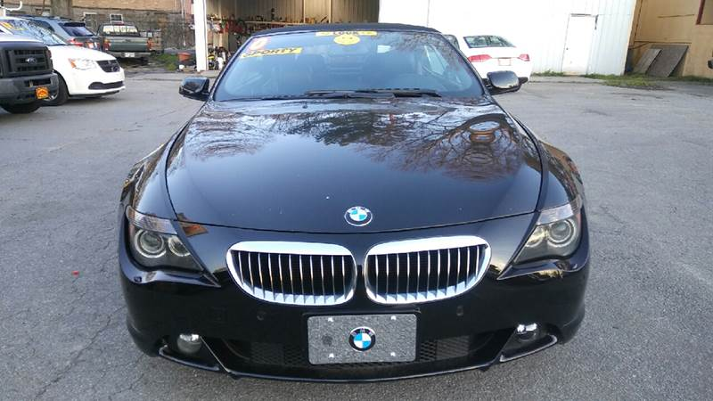 2007 BMW 6 SERIES 650I 2DR CONVERTIBLE black 2-stage unlocking doors abs - 4-wheel active suspe