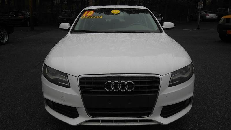 2010 AUDI A4 20T QUATTRO PREMIUM PLUS AWD 4D white 2-stage unlocking doors 4wd type - full time