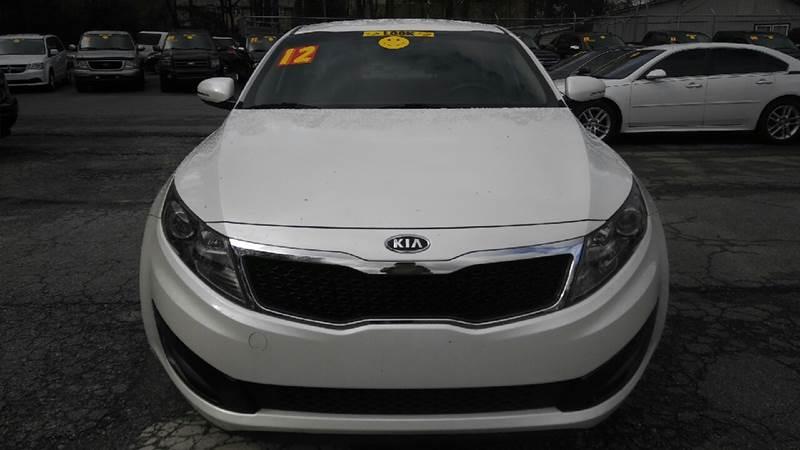 2012 KIA OPTIMA LX 4DR SEDAN 6A white 2-stage unlocking doors abs - 4-wheel active head restrai