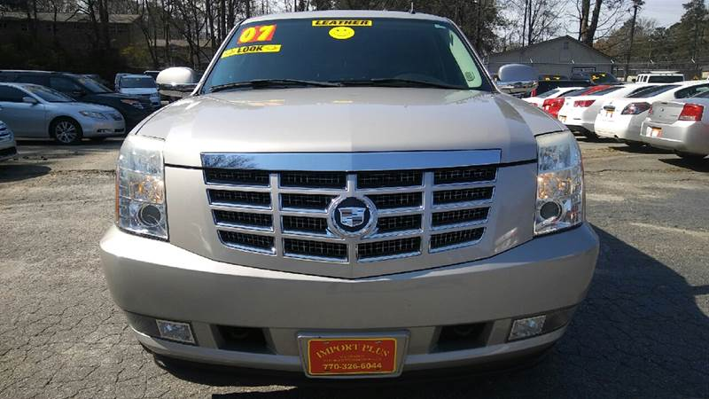 2007 CADILLAC ESCALADE BASE AWD 4DR SUV champagne 2-stage unlocking doors 4wd type - full time