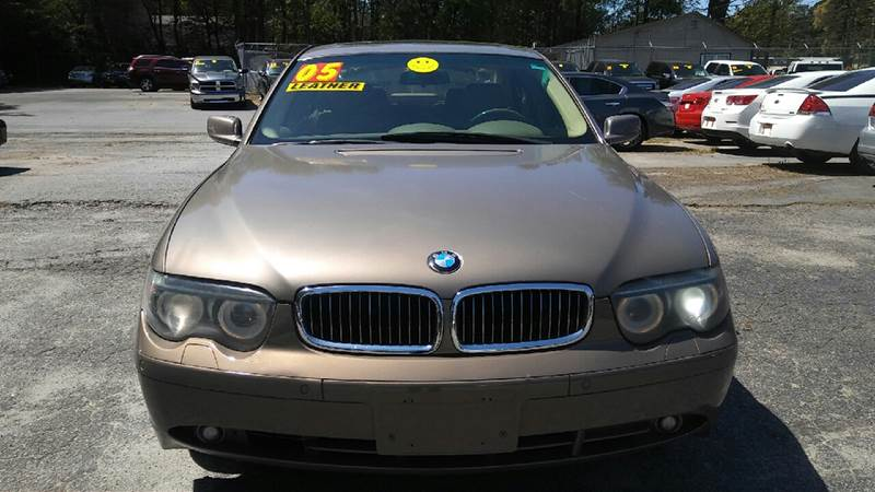 2005 BMW 7 SERIES 745I 4DR SEDAN brown abs - 4-wheel anti-theft system - alarm center console -